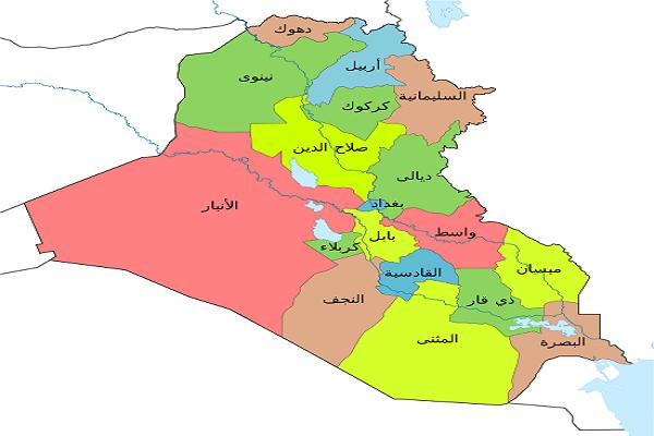خريطة العراق2