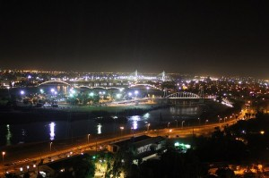 Ahwaz in the night