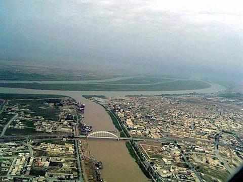 Mohammara Karoon & Shattelarab rivers