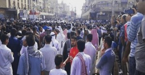 اهواز تظاهرات مردم عرب - فروردین ۹۷